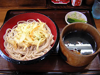 L肉汁天付550円