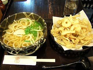 カキアゲうどん880円