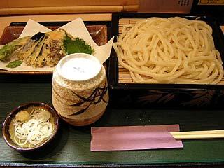 野菜天うどん690円