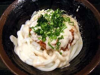 辛口肉味噌うどん430円