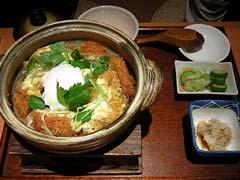 黒豚土鍋カツ丼1,050円