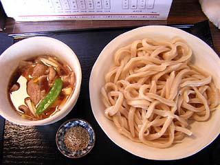 豚肉汁うどん850円