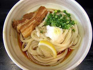 煮豚ぶっかけうどん680円
