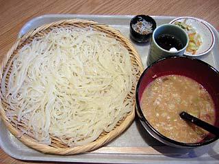 七蔵特製スープつけ麺小700円