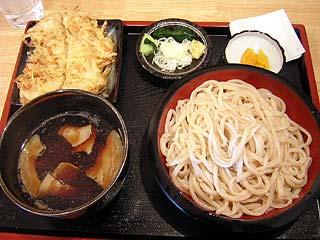 3玉+かきあげ(肉汁)600円