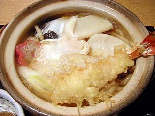 鍋焼きうどん1,100円