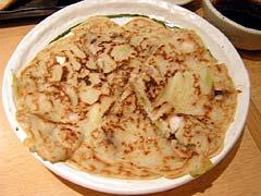 蕎麦蛸チヂミ