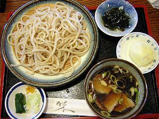 肉汁うどん600円+超半熟卵天100円