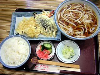 うどん定食1,050円