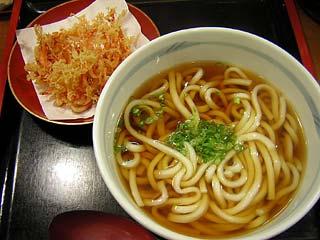 桜海老うどん550円