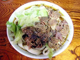 肉うどん420円