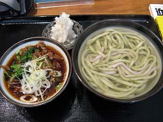 霙糧釜(大根うどん)850円