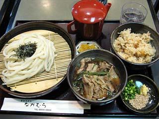 つけ麺定食900円