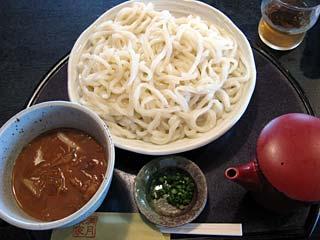 肉汁うどん800円