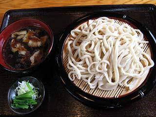 ざる550円+肉汁50円