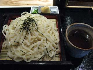 ざるうどん850円+大盛(無料)