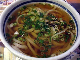 原味烏龍麺90元=約325円