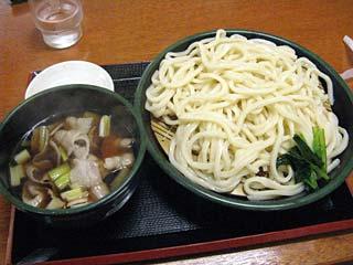 肉汁うどん780円