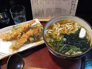 天ぷらうどん790円