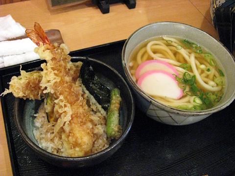 セットメニュー(海老天丼)980円
