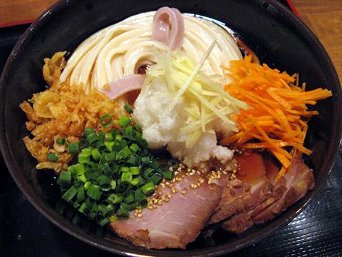 焼き豚ぶっかけ750円