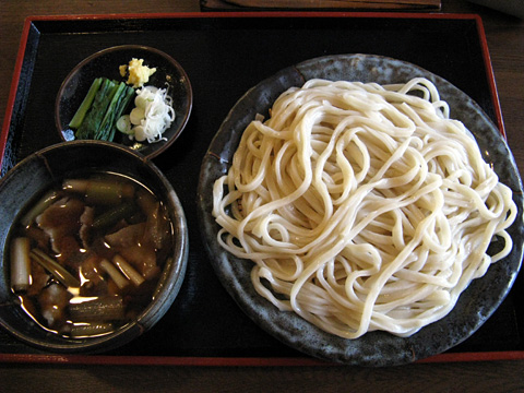 肉汁うどん650円