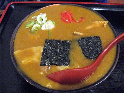カレー丼うどん(並)780円