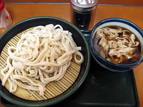 武蔵野肉ねぎ汁うどん580円
