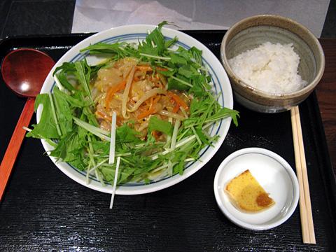 冷製カレーうどんサラダ780円
