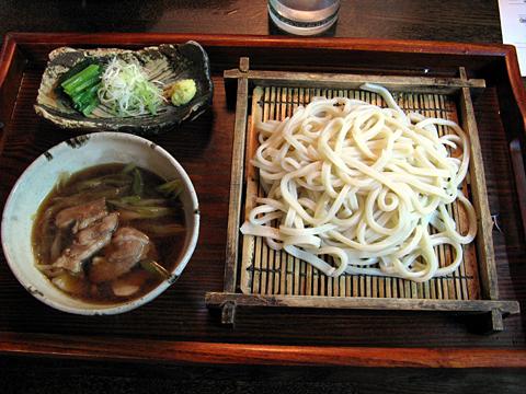 肉汁うどん750円