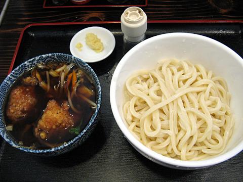 鳥野菜つけうどん750円