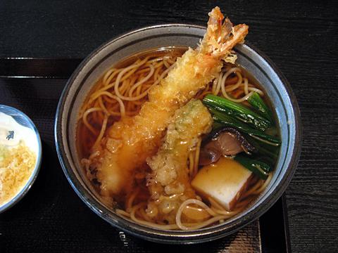 絹引天ぷら生姜うどん1,365円