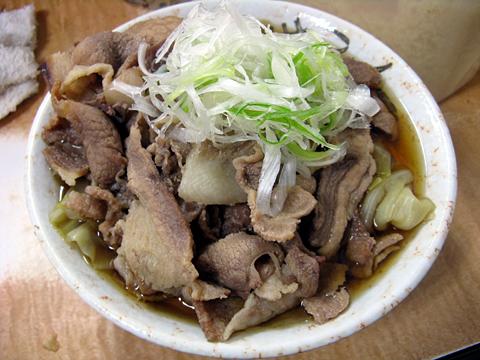 肉キャベツうどん470円
