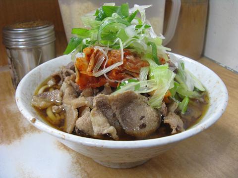 肉キムチうどん470円