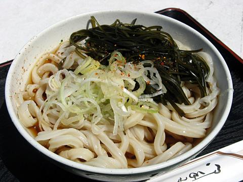 さぬきうどん(冷)350円