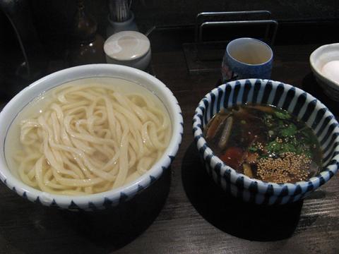 軍鶏つけ汁うどん(釜揚げ)800円