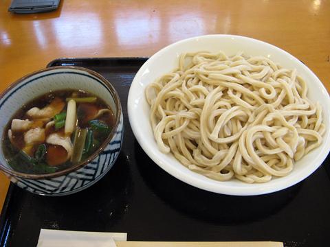 肉汁うどん普通盛り750円