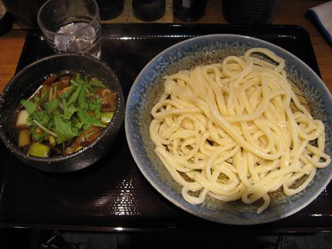 肉汁うどん580円