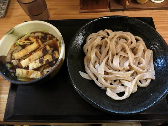 肉汁うどん(小盛)800円