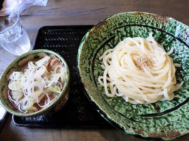 肉汁うどん700円