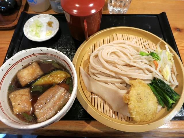 肉汁うどん730円