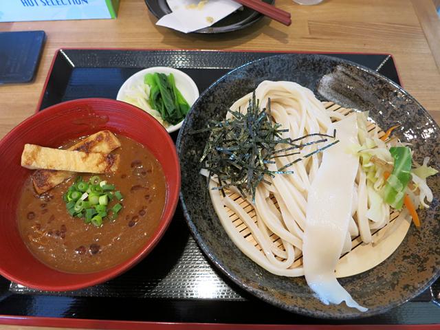 濃厚カレーつけ汁うどん(小盛)600円