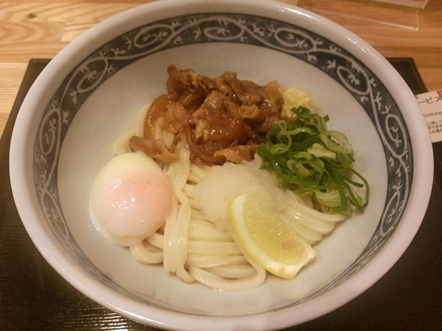 肉玉ぶっかけ500円