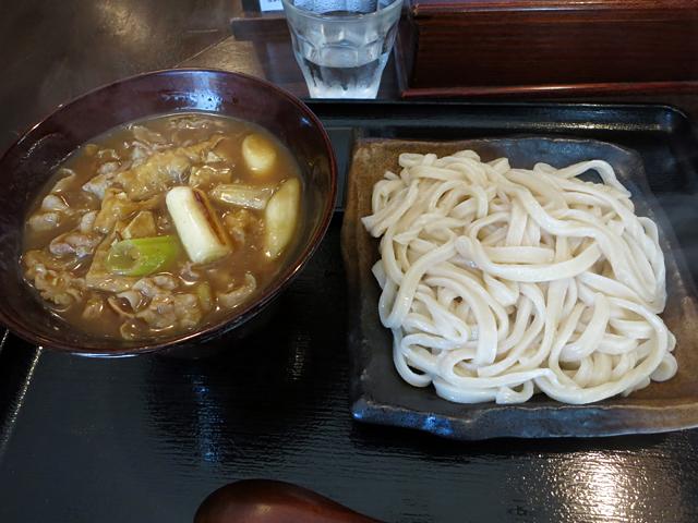 武蔵野カレーうどん中(1辛)900円