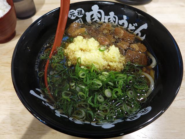 肉肉うどん720円
