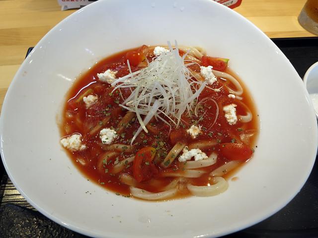 冷製トマトうどん950円