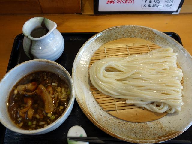 肉汁ざるうどん650円