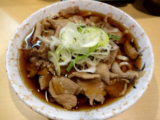 肉うどん480円