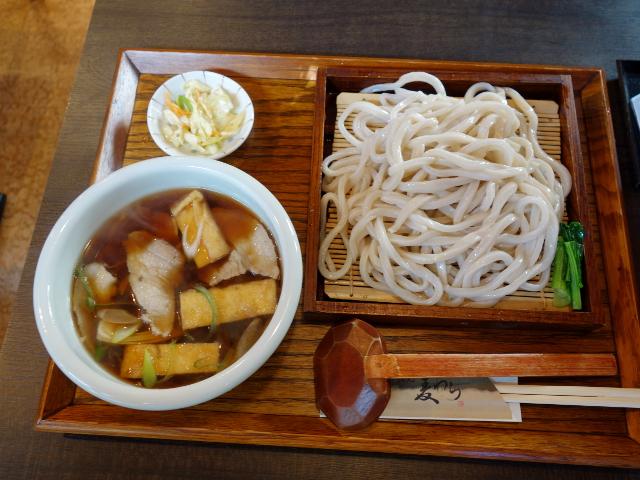 肉つけ汁うどん750円