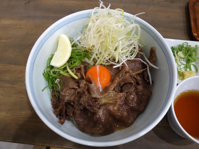 極上の肉うどん1600円